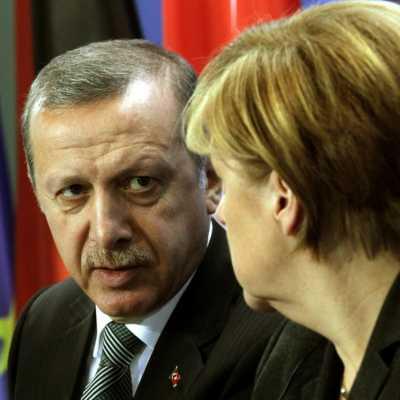 Bild: Recep Tayyip Erdogan und Angela Merkel am 04.02.2014, über dts Nachrichtenagentur