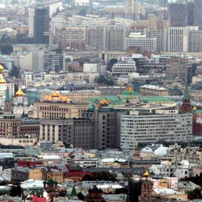 Bild: Blick über Moskau mit dem Kreml, über dts Nachrichtenagentur