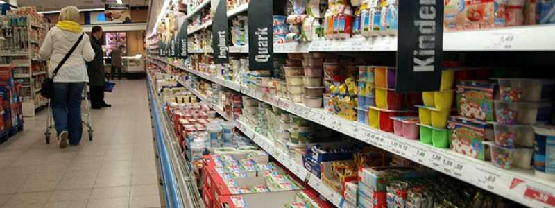 Bild: Einkaufsregal in einem Supermarkt, über dts Nachrichtenagentur