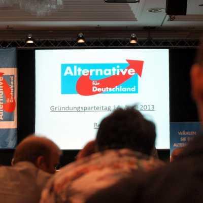 Bild: Gründungsparteitag der Alternative für Deutschland, über dts Nachrichtenagentur