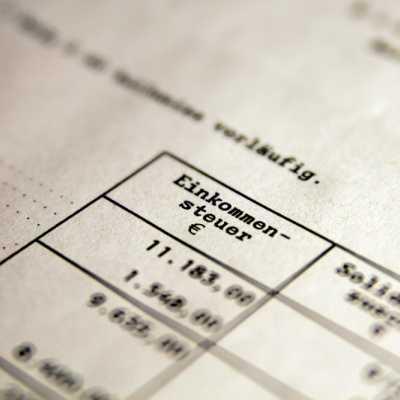 Bild: Einkommensteuer, über dts Nachrichtenagentur