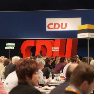 Bild: CDU-Parteitag, über dts Nachrichtenagentur