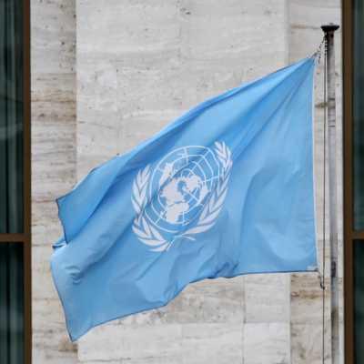 Bild: Fahne vor den Vereinten Nationen (UN), über dts Nachrichtenagentur