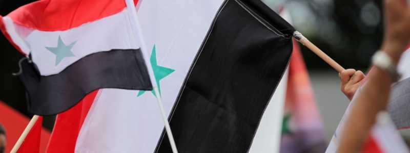 Bild: Flagge von Syrien, über dts Nachrichtenagentur