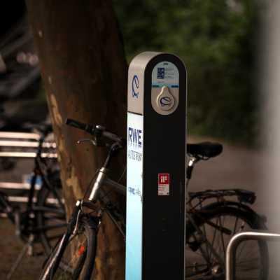 Bild: Elektroauto-Stromtankstelle von RWE, über dts Nachrichtenagentur