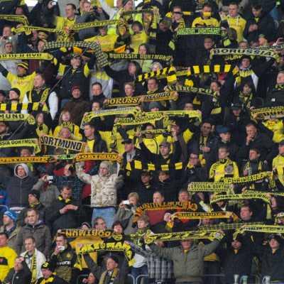 Bild: Fans von Borussia Dortmund, über dts Nachrichtenagentur