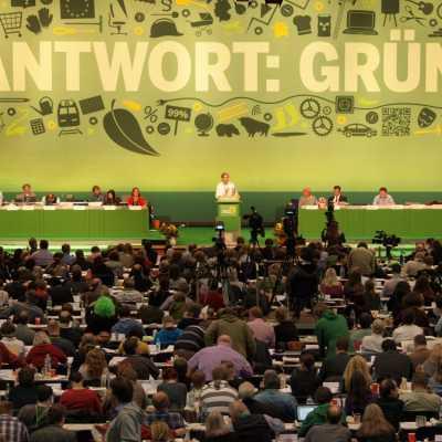 Bild: Parteitag von Bündnis 90 / Die Grünen, über dts Nachrichtenagentur