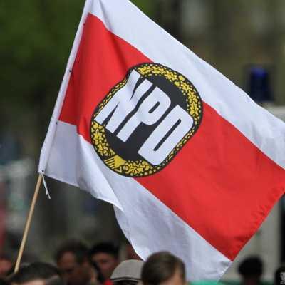 Bild: NPD-Fahne, über dts Nachrichtenagentur
