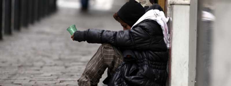 Bild: Bettlerin, über dts Nachrichtenagentur