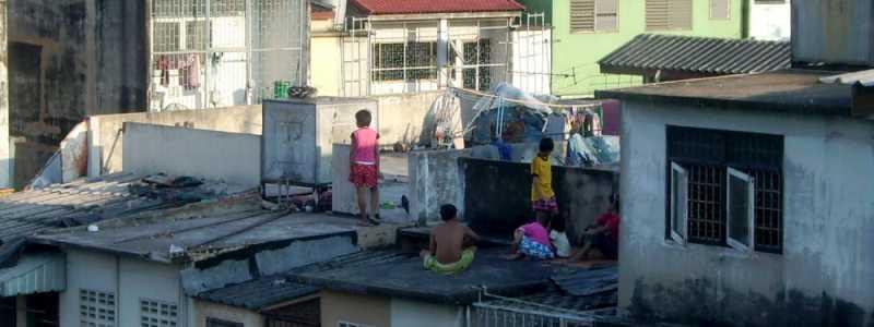 Bild: Kinder in einem Slum, über dts Nachrichtenagentur