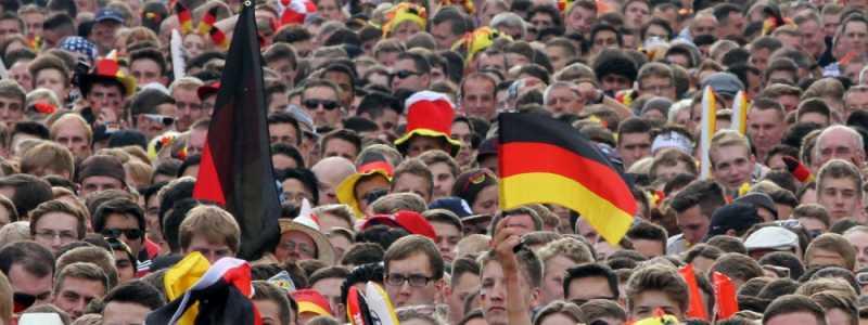 Bild: Fußballfans der Deutschen Fußball-Nationalmannschaft, über dts Nachrichtenagentur