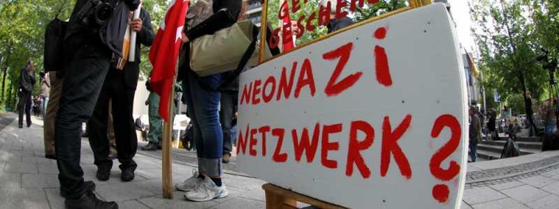 Bild: Proteste beim NSU-Prozess vor dem Strafjustizzentrum München, über dts Nachrichtenagentur