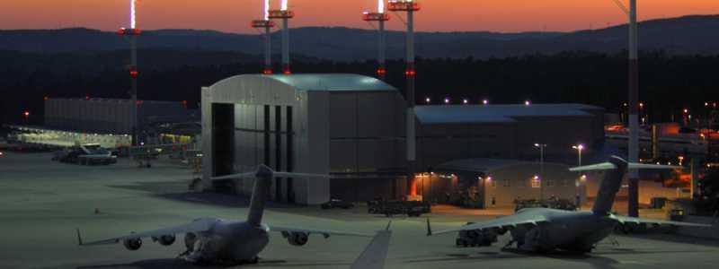 Bild: US-Luftwaffenbasis Ramstein, über dts Nachrichtenagentur