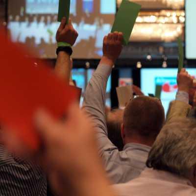 Bild: Abstimmung auf dem Gründungsparteitag der Alternative für Deutschland am 14.04.2013, über dts Nachrichtenagentur