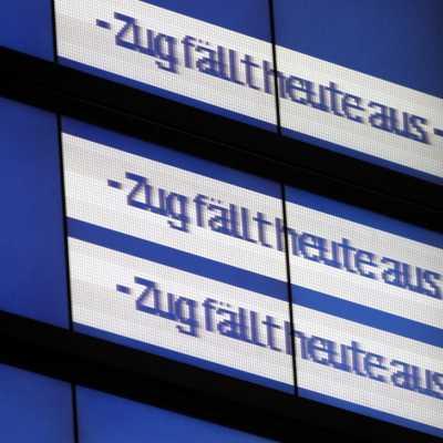 Bild: Zugausfälle bei der Bahn, über dts Nachrichtenagentur