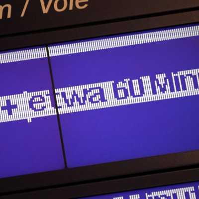 Bild: Verspätungs-Anzeige bei der Bahn, über dts Nachrichtenagentur