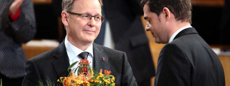Bild: Bodo Ramelow und Mike Mohring am 05.12.2014 im Erfurter Landtag, über dts Nachrichtenagentur
