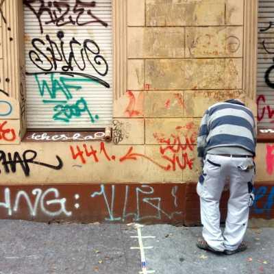 Bild: Graffiti-Entfernung, über dts Nachrichtenagentur