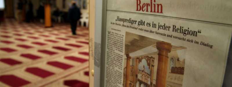 Bild: Zeitungsausschnitt über Hassprediger in einer Berliner Moschee, über dts Nachrichtenagentur