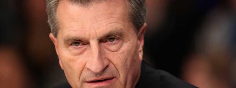 Bild: Günther Oettinger, über dts Nachrichtenagentur