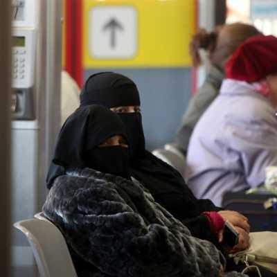 Bild: Vollverschleierte Frauen, über dts Nachrichtenagentur