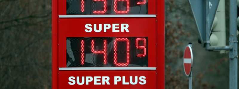 Bild: Benzinpreis-Anzeigetafel, über dts Nachrichtenagentur