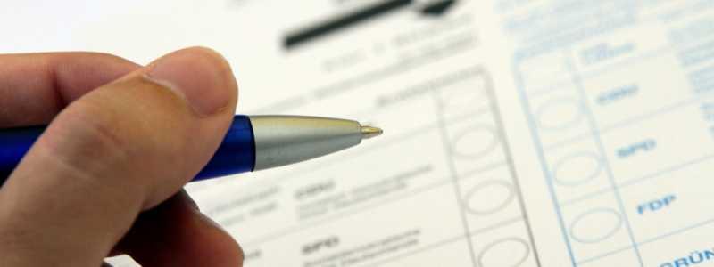 Bild: Stimmzettel für die Bundestagswahl, über dts Nachrichtenagentur