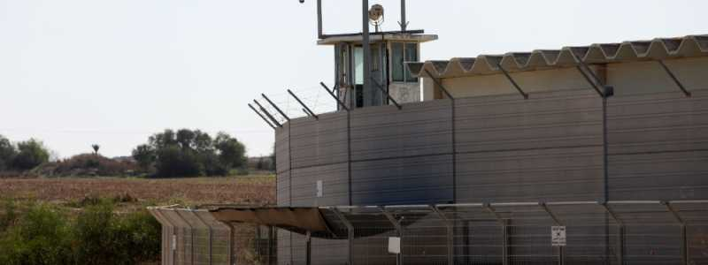 Bild: Grenze zum Gazastreifen, über dts Nachrichtenagentur