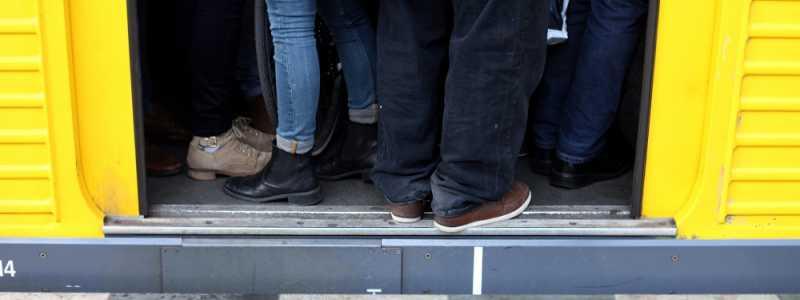 Bild: Ãœberfüllte U-Bahn, über dts Nachrichtenagentur