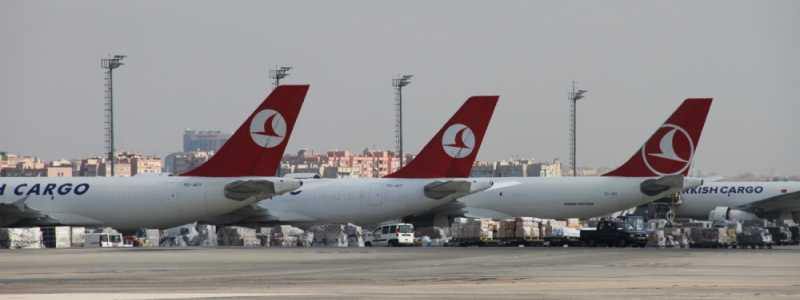 Bild: Flugzeuge der Turkish Airlines, über dts Nachrichtenagentur