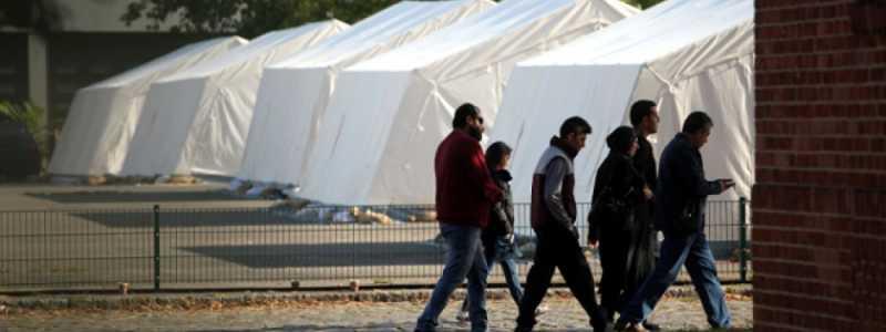 Bild: Flüchtlinge in einer