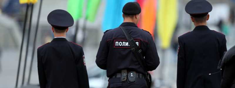 Bild: Polizisten in Russland, über dts Nachrichtenagentur
