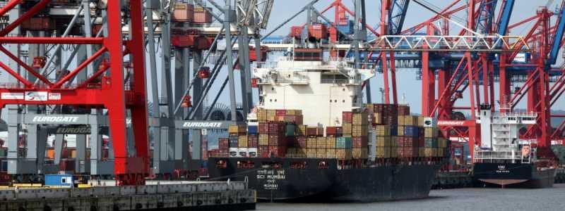 Bild: Containerschiff, über dts Nachrichtenagentur