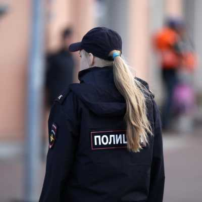 Bild: Polizistin in Russland, über dts Nachrichtenagentur