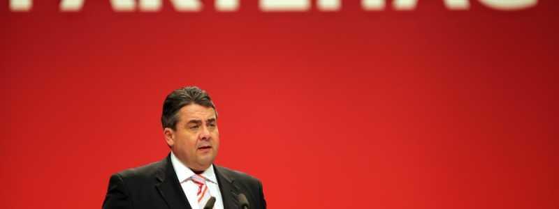 Bild: Sigmar Gabriel auf dem SPD-Parteitag in Leipzig am 14.11.2013, über dts Nachrichtenagentur
