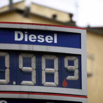 Bild: Diesel-Preis an einer Tankstelle, über dts Nachrichtenagentur