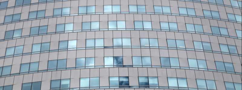 Bild: Glasfassade an einem Bürohaus, über dts Nachrichtenagentur