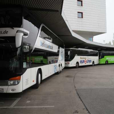 Bild: Fernbusse von Berlinlinienbus, Eurolines, MeinFernbus/Flixbus, über dts Nachrichtenagentur
