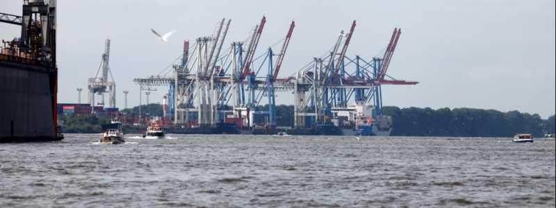 Bild: Hamburger Container-Hafen, über dts Nachrichtenagentur