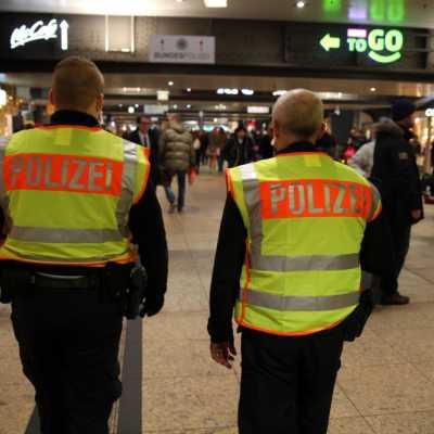 Bild: Bundespolizei im Bahnhof, über dts Nachrichtenagentur