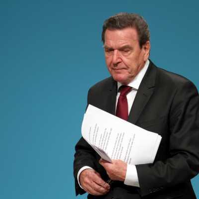 Bild: Gerhard Schröder, über dts Nachrichtenagentur