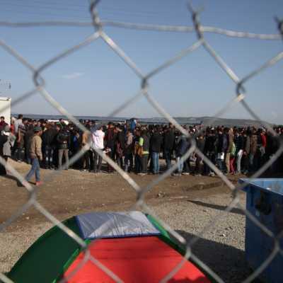 Bild: Flüchtlinge auf der Balkanroute, über dts Nachrichtenagentur