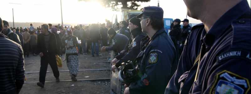 Bild: Flüchtlinge in Griechenland, über dts Nachrichtenagentur