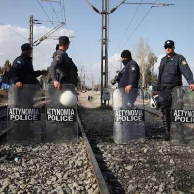 Bild: Grenze Mazedonien - Griechenland, über dts Nachrichtenagentur