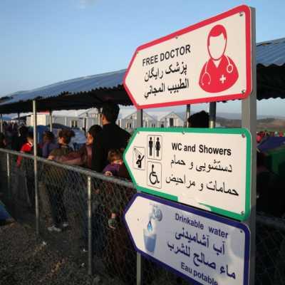 Bild: Flüchtlingslager Idomeni, über dts Nachrichtenagentur