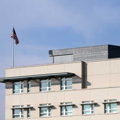 Bild: US-Botschaft in Berlin, über dts Nachrichtenagentur