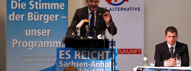 Bild: André Poggenburg am 11.03.2016, über dts Nachrichtenagentur