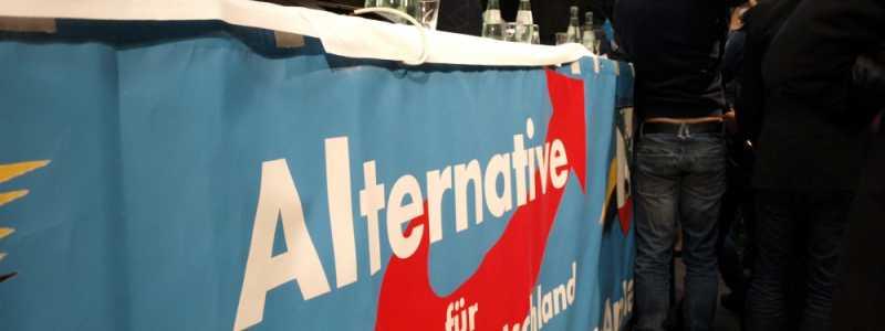 Bild: Journalisten bei der AfD, über dts Nachrichtenagentur