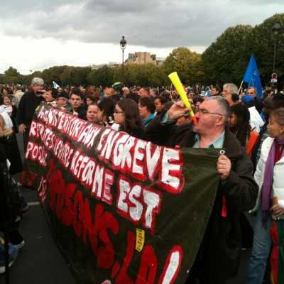 Bild: Demonstration in Frankreich, über dts Nachrichtenagentur