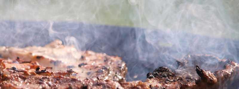 Bild: Steak auf einem Grill, über dts Nachrichtenagentur